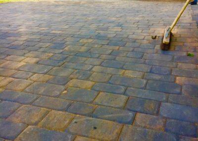 Block paving work