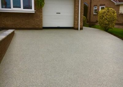 Driveway resin bound surface
