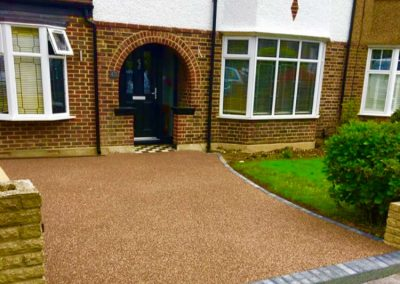 Resin bound driveway 10 year guarantee