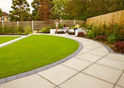 Wide range of colours sandstone paving
